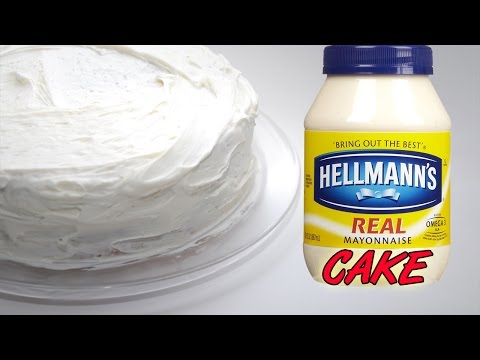 Mayonnaise Cake....Yum!
