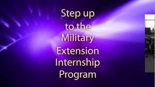 Apply by September 30th – Military Extension Internship Program thumbnail image