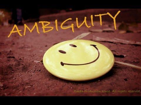 Ambiguity (Short film) short film