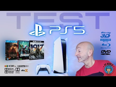 PlayStation 5 : TEST DVD, Blu-ray, 4K, HDR, Dolby Atmos, Dolby Vision, DTS-Audio, Netflix...!