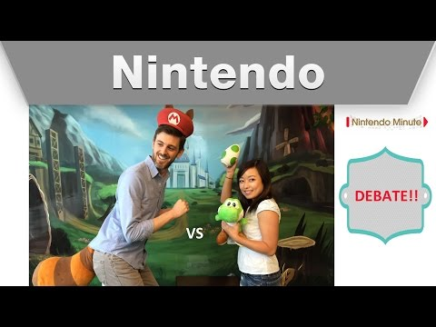 "nintendo - Hi, we wanted to do a different type of video this week so we came up with the idea to debate two Nintendo topics with each of us taking a side. This time our topic is: ""Which game is more..."
