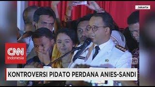 Video Kontroversi Pidato Perdana Anies - Sandi, Gubernur Anies Baswedan Sebut Kata Istilah Pribumi MP3, 3GP, MP4, WEBM, AVI, FLV Oktober 2017