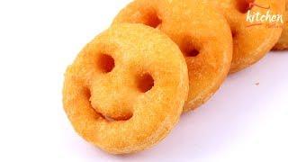Potato Smiley Recipe - Potato Smiley Snack - How to Cook Potato Smiley