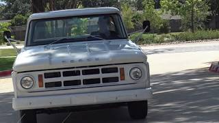 Take Road Test & Tour of this classic Slant-6 powered 1968 Dodge D-100 pickup truck, filmed by me, Samspace81 for my friends and long-time clients at Garrett Classics in Lewisville, Texas. Follow Samspace81 for classic trucks, classic cars, muscle cars, exotic cars and more. Filmed in HD.