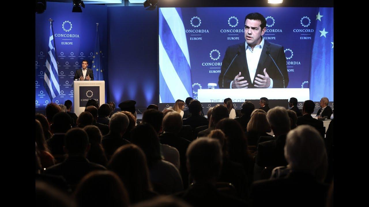 Ομιλία στο «Concordia Europe Summit»
