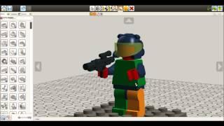 Видео в LEGO Digital Designer