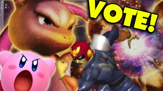 Help a Smash Brother Out? Vote a Character for Me to Make a Montage of!