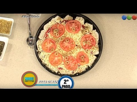 Receta: Pizza de Pan - Morfi
