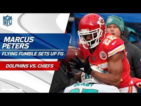 Video: KC Hauls in Flying Fumble to Set Up a Scoring Drive vs. Miami! | Dolphins vs. Chiefs | NFL Wk 16