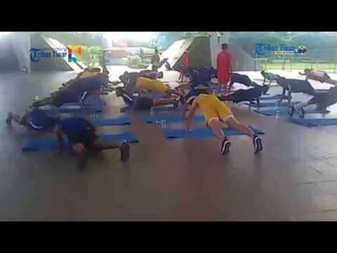 Begini Latihan Terakhir Tim PSM Sebelum ke Bali
