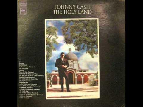 Tekst piosenki Johnny Cash - The Ten Commandments po polsku