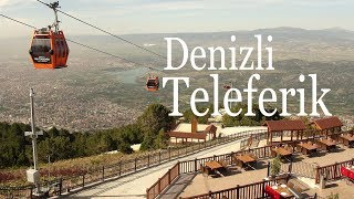 Denizli Turkey  City pictures : Teleferik (Cable Car) & Bağbaşı, Denizli, Turkey, 4/22/2016