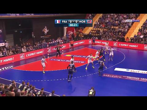 Qualif Euro 2018 M4 - France 28-24 Norvège [2017-05-06]