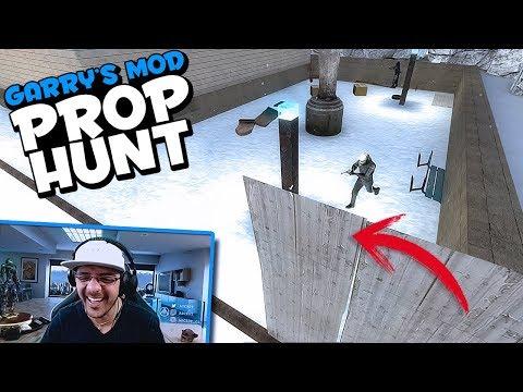 Garry's Mod - Prop Hunt #11  QUE COMIENCE EL TROLL...  ESP