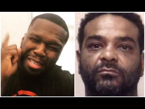 50 Cent Reacts To Jim Jones Getting Arrested In ATL (видео)