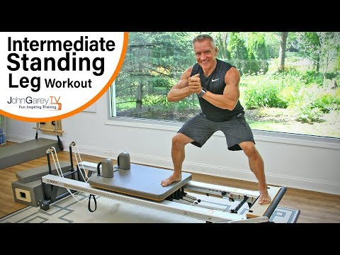 Intermediate Reformer Standing Leg Workout