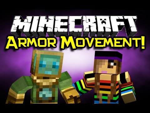 Minecraft – ARMOR MOVEMENT MOD Spotlight – Gadgets Are AWESOME! (Minecraft 1.4.2 Mod Showcase)