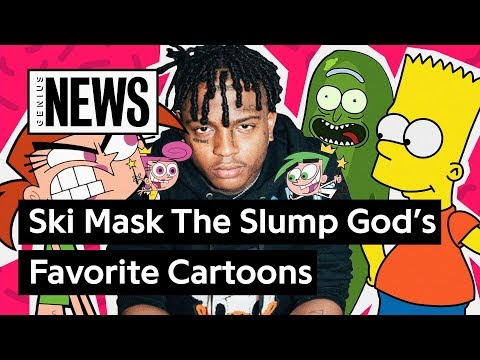 What Are Ski Mask The Slump God's Favorite Cartoons In His Lyrics? | Genius News