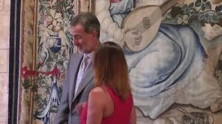 Audiencia de S.M. el Rey a la presidenta de Baleares, Francina Armengol