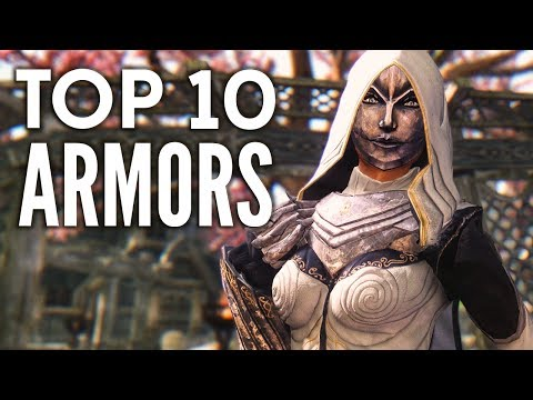 Skyrim Top 10 Armor Mods:  My favorite armor mods thus far.  Like and favorite!Twitter: http://www.twitter.com/mmoxreviewFacebook: http://www.facebook.com/mxreviewMerch: http://mmoxreview.spreadshirt.com/Tribunal Robes and Masks by Zairaam and Natterformehttp://www.nexusmods.com/skyrim/mods/20077/?tab=1&navtag=http%3A%2F%2Fwww.nexusmods.com%2Fskyrim%2Fajax%2Fmoddescription%2F%3Fid%3D20077%26preview%3D&pUp=1Medusa Drakul armors and Thanatos dragon by Zerofrost Satyrhttp://www.nexusmods.com/skyrim/mods/31229/?Evil MasterMind Armor by Satyr ZeroFrosthttp://www.nexusmods.com/skyrim/mods/25476/?tab=3&navtag=http%3A%2F%2Fwww.nexusmods.com%2Fskyrim%2Fajax%2Fmodimages%2F%3Fid%3D25476%26user%3D1&pUp=1Raven witch armor and Apex Werewolf by Zerofrost Satyrhttp://www.nexusmods.com/skyrim/mods/36497/?theRoadstrokers Rogue Sorceress Outfit by theRoadstrokerhttp://www.nexusmods.com/skyrim/mods/21313/?tab=1&navtag=http%3A%2F%2Fwww.nexusmods.com%2Fskyrim%2Fajax%2Fmoddescription%2F%3Fid%3D21313%26preview%3D&pUp=1Nights Watch Armor by trinkofhttp://www.nexusmods.com/skyrim/mods/16741/?tab=3&navtag=http%3A%2F%2Fwww.nexusmods.com%2Fskyrim%2Fajax%2Fmodimages%2F%3Fid%3D16741%26user%3D2&pUp=1Equipment Of Eternal Shine - Elven Overhaul by lKocMoHaBTlhttp://www.nexusmods.com/skyrim/mods/17582/?http://www.nexusmods.com/skyrim/mods/25386/?Demon Hunter Armor - CBBEv3 and UNP by BloodFreehttp://www.nexusmods.com/skyrim/mods/27060/?tab=3&navtag=http%3A%2F%2Fwww.nexusmods.com%2Fskyrim%2Fajax%2Fmodimages%2F%3Fid%3D27060%26user%3D1&pUp=1Triss Armor Retextured by Psyke23 and oldholohttp://www.nexusmods.com/skyrim/mods/4708/?tab=1&navtag=http%3A%2F%2Fwww.nexusmods.com%2Fskyrim%2Fajax%2Fmoddescription%2F%3Fid%3D4708%26preview%3D&pUp=1Masters of Death - Rise of the Brotherhood by fume0101http://www.nexusmods.com/skyrim/mods/9752/?tab=1&navtag=http%3A%2F%2Fwww.nexusmods.com%2Fskyrim%2Fajax%2Fmoddescription%2F%3Fid%3D9752%26preview%3D&pUp=1