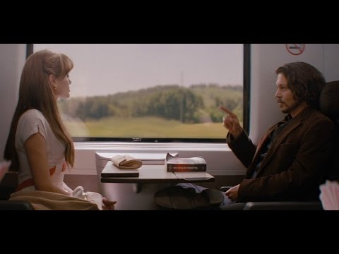 Angelina Jolie in The Tourist 2010 | How do you flirting with a guy (movie scene)