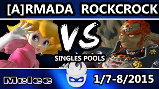 Paragon 2015: Armada vs Rockcrock in an entertaining Peach vs Ganon match.