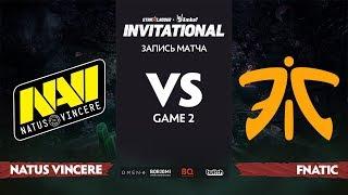 Natus Vincere против Fnatic, Вторая карта, Группа Б, StarLadder Imbatv Invitational S5 LAN-Final