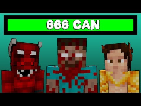 Minecraft 666 Can - Steves Inferno Mod