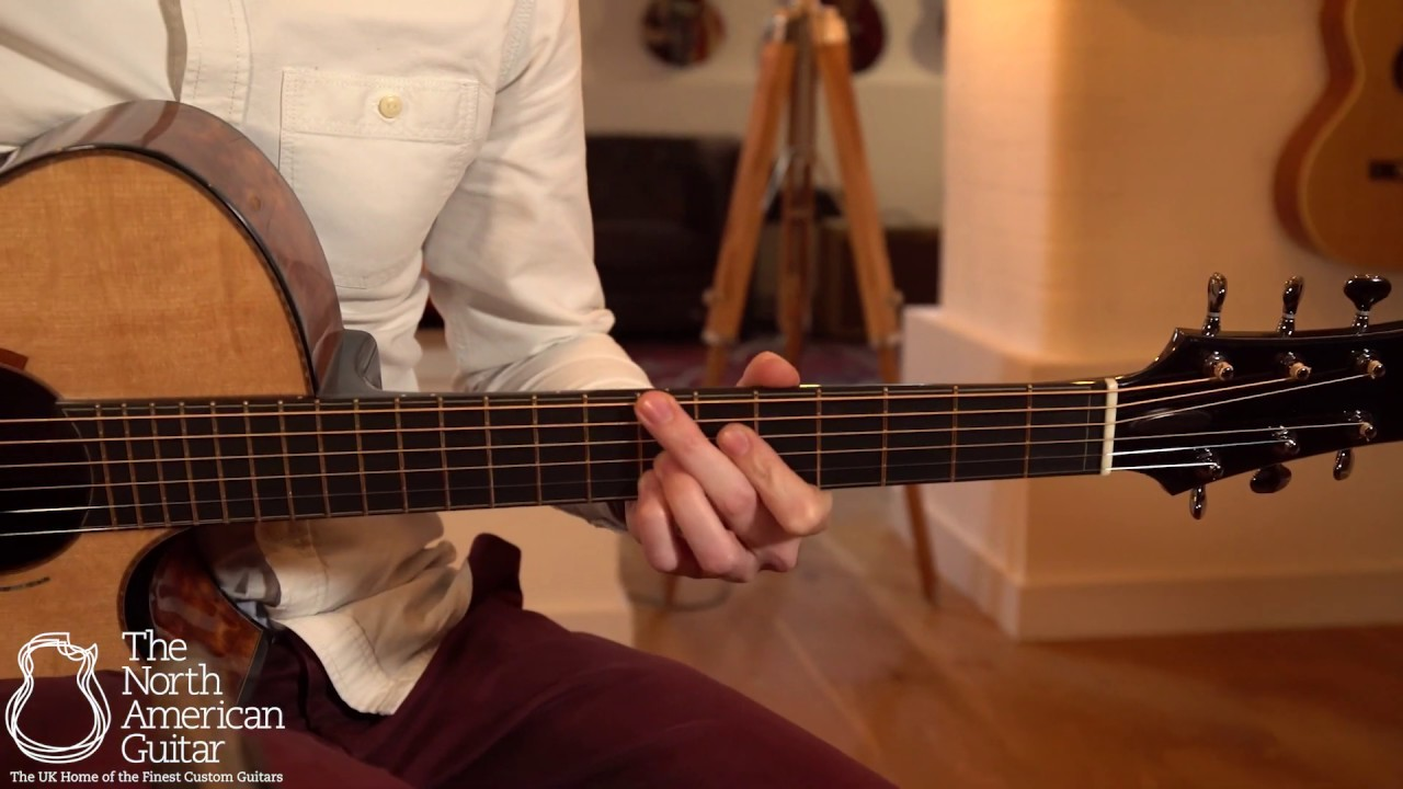 Beauregard Guitars OM Acoustic Guitar Played By Will McNicol (Part One)