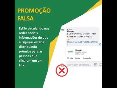Atenção - Post inverídicos sobre distribuição de prêmios pela Liquigás de Palotina circulam pela internet.