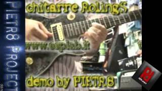 Pietr8project -Still got the blues- solo by Pietr8