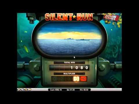 Silent Run Slot - BIG Echo Bonus!
