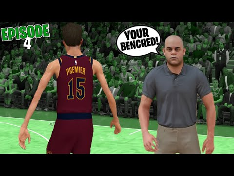 I GOT BENCHED WITH 1 MINUTE LEFT! | MYCAREER EP 4 | NBA 2K21