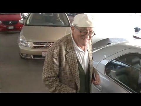 Oscar Winning Composer Ennio Morricone Forever Young At LAX