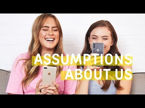 Reading People's Assumptions About Us!