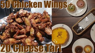Video MUKBANG 50 Chicken Wings + 20 Cheese tart dari Pablo MP3, 3GP, MP4, WEBM, AVI, FLV September 2018
