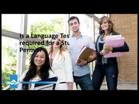 Canada Study Permit Language Test Video