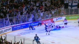 Maalikooste Suomen ja Kanadan välisestä puolivälierästä 2.1.2016. Suomi voitti trillerimäisen ottelun 6-5!