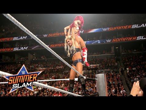 Sasha Banks vs. Charlotte - WWE Women's Title Match: SummerSlam 2016, only on WWE Network