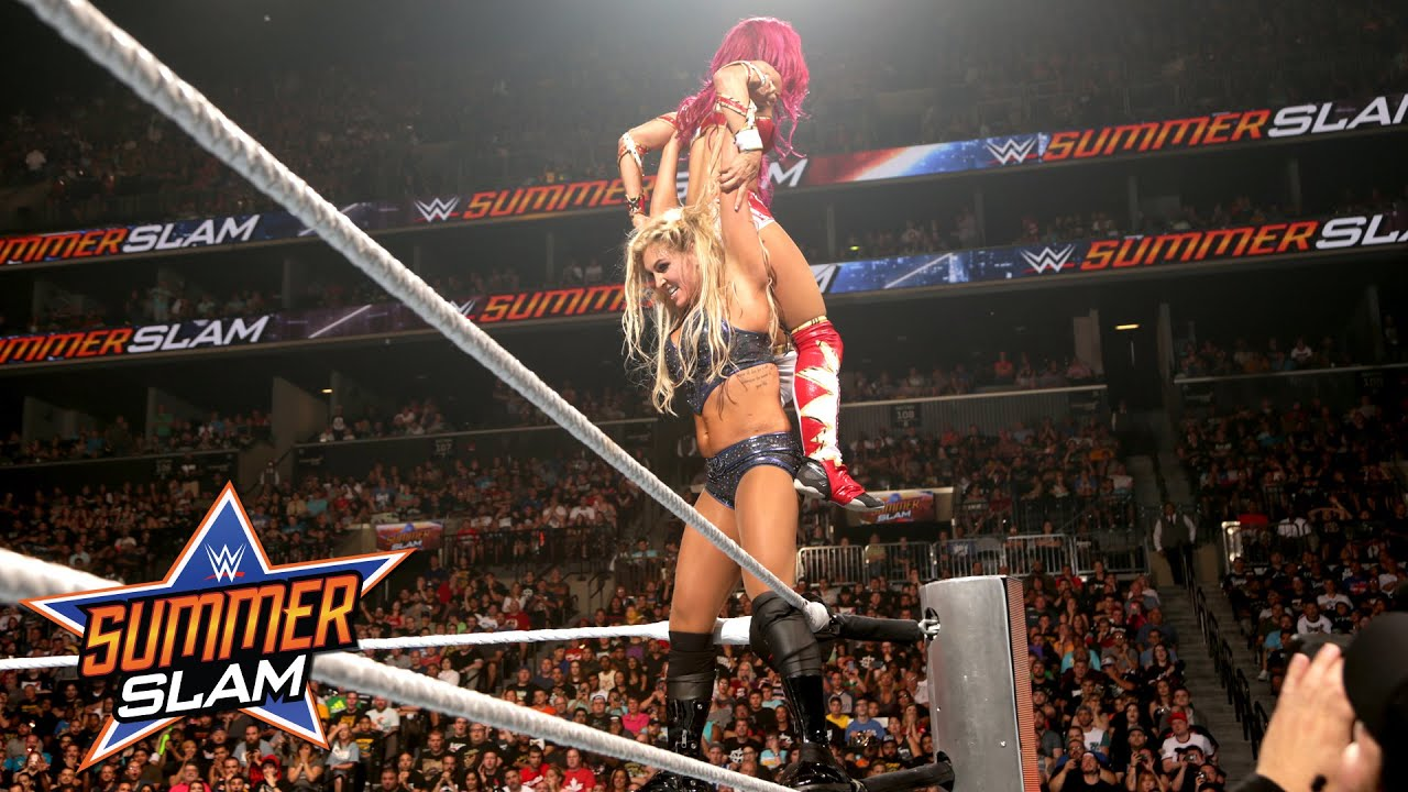 Sasha Banks vs. Charlotte – WWE Women's Title Match: SummerSlam 2016, only on WWE Network