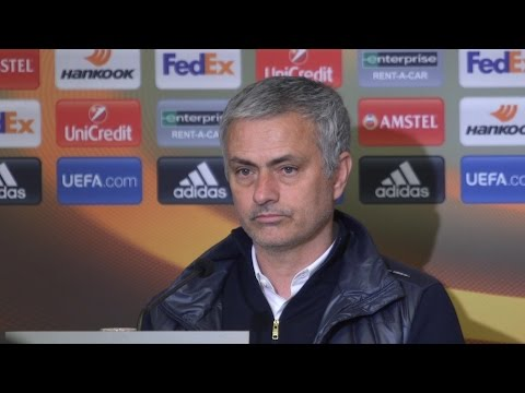 Jose Mourinho Full Pre-Match Press Conference - Manchester United v Chelsea (видео)