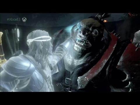 Middle-earth: Shadow of War E3 Gameplay Demo - E3 2017: Microsoft Conference