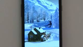Winter White Live Wallpaper YouTube video