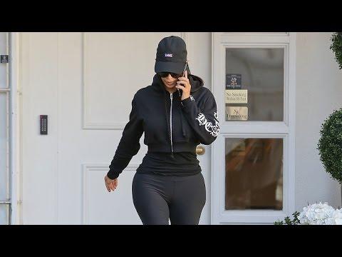 Kim Kardashian Is The Epitome Of The Hour Glass