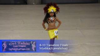 8-10 Tamahine at the Ori Tahiti Las Vegas, Feb 18-19, 2012 at Sports Center of Las Vegas. Costume by: Tiare 'O Patitifa ...
