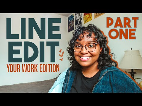 Editing YOUR Writing pt. 1 | Line Edit With Me #4