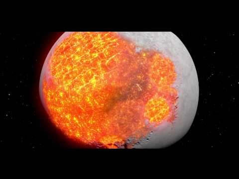 NASA - Evolution Of The Moon