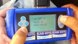 2008 Jeep Compass  Key Programming (gabi Locks-isr