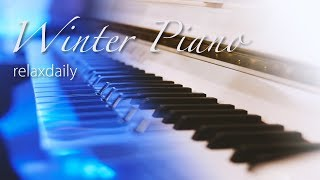 Video Relaxing Winter Piano Music 24/7: ICE PIANO - Winter Music, Christmas Music MP3, 3GP, MP4, WEBM, AVI, FLV Desember 2018