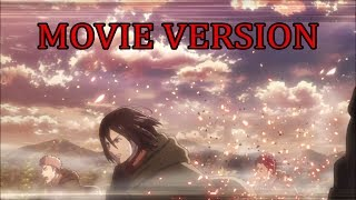Survey Corps vs Titans - Movie Version
